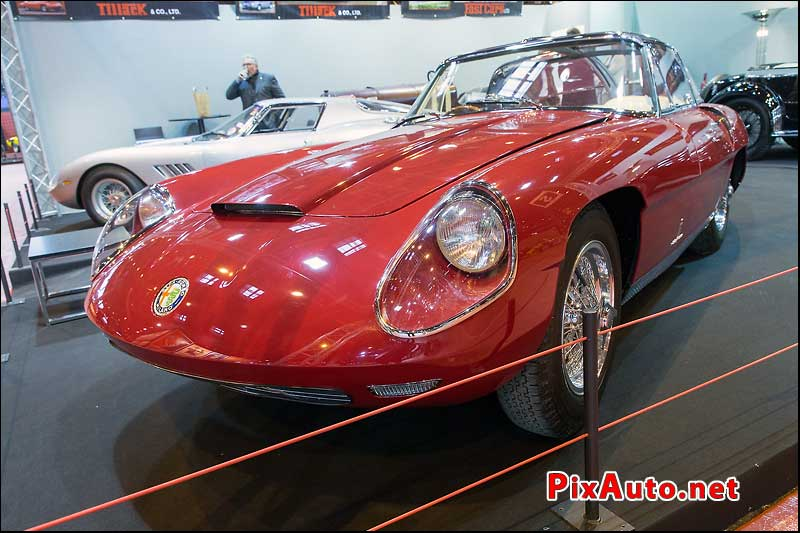 Salon Retromobile, Concep Car Alfa Romeo 3500 Supersport Pinifarina 1960