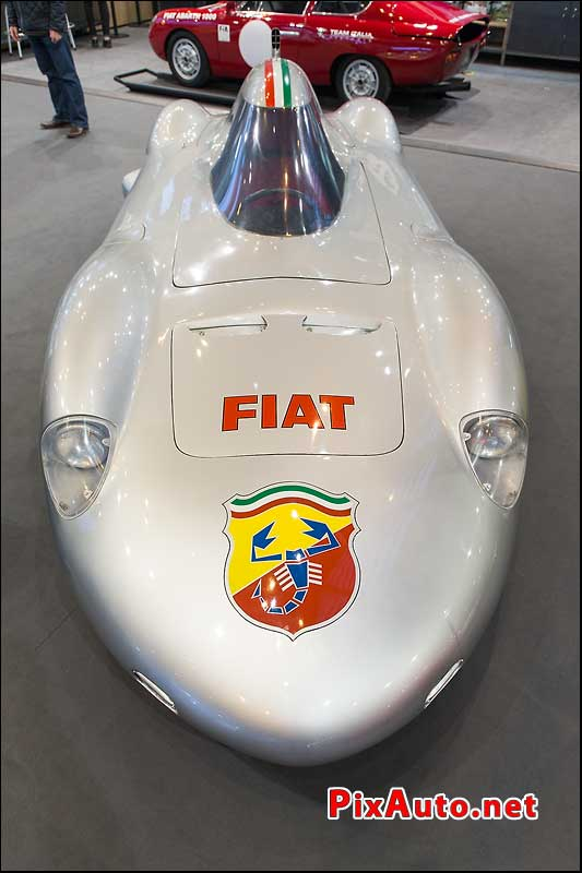 Salon Retromobile 2017, Fiat Abarth 1000 Monoposto Record