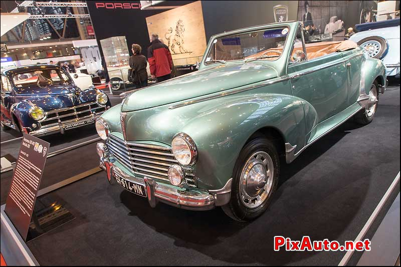 Salon Retromobile, Peugeot 203 Cabriolet