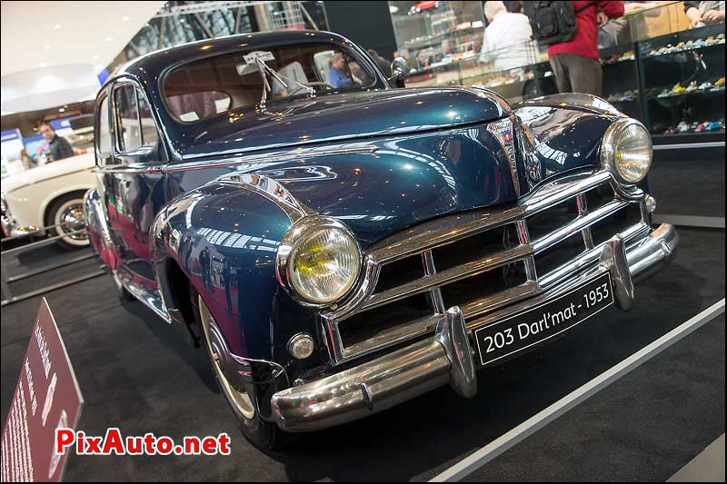 Salon Retromobile, Peugeot 203 Darlmat