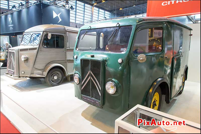 Salon Retromobile, Utilitaire Citroen Type C