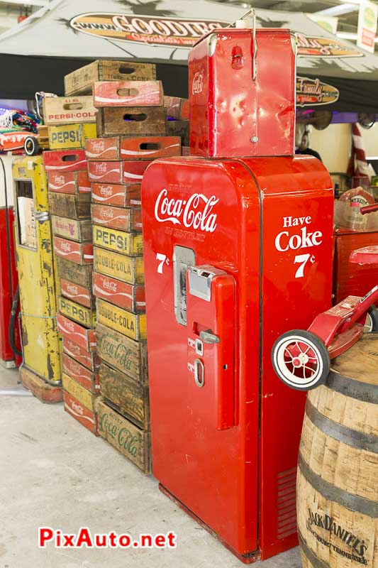 Salon-Automedon, Distributeur Coca-Cola Vintage