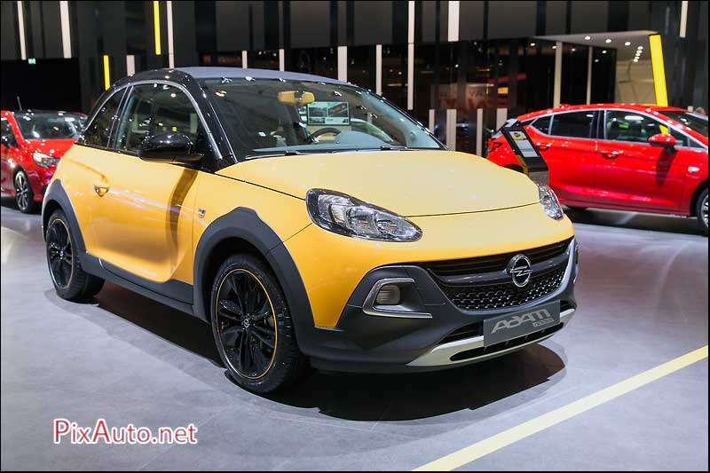 95e Salon De Bruxelles, New Opel Adam Rocks