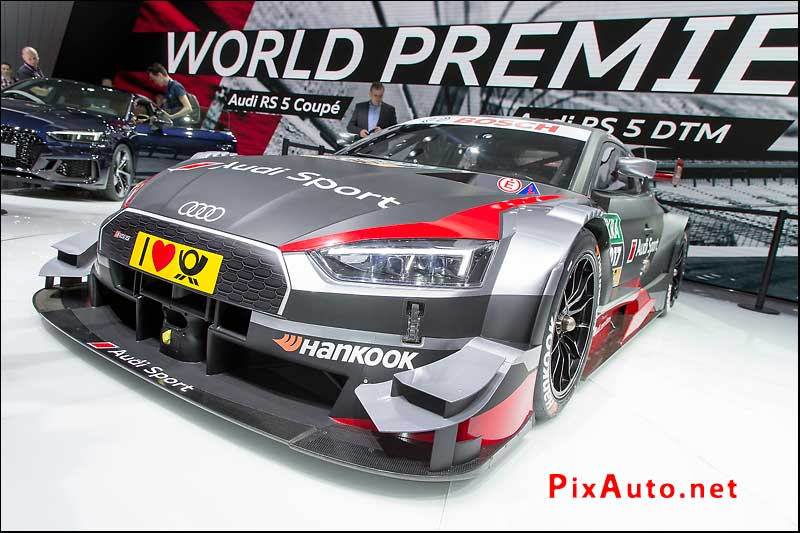 Salon-de-Geneve, Audi Rs 5 Dtm