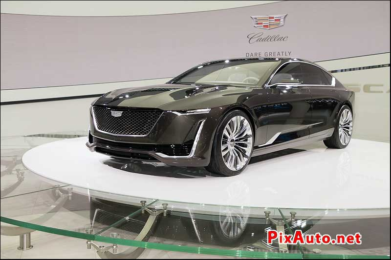 Salon-de-Geneve, Concept Car Cadillac Escala