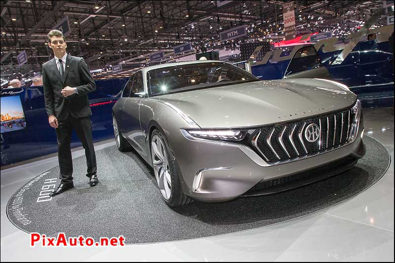 Salon-de-Geneve, Concept Car H600 By Pininfarina
