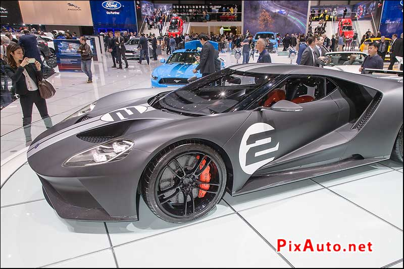 Salon-de-Geneve, Ford GT 66 Heritage Edition
