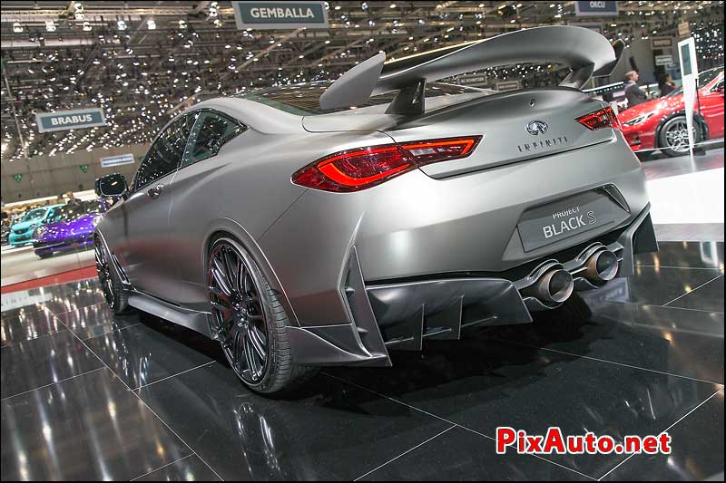 Salon-de-Geneve, Infiniti Project Black S Arriere