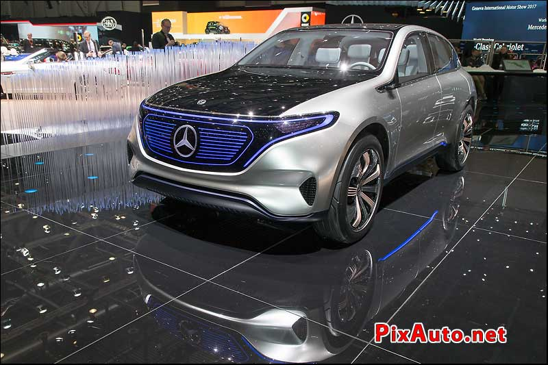 Salon-de-Geneve, Show Car Eq By Mercedes-Benz