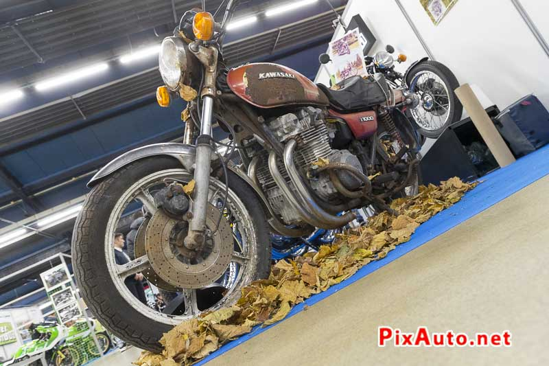 20e Salon-Moto-Legende, Kawazaki Z1000 a restaurer