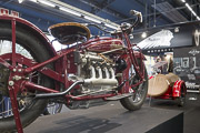 20e Salon-Moto-Legende, Indian 4 Cylindres Semi-culbute
