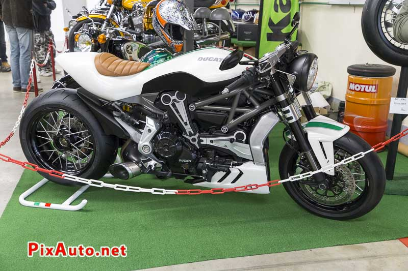 20e Salon-Moto-Legende, Prepa Ducati Diavel