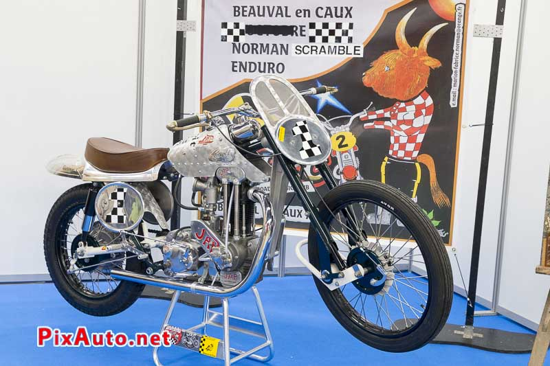 20e Salon-Moto-Legende, Prepa Greeves Hawkstone