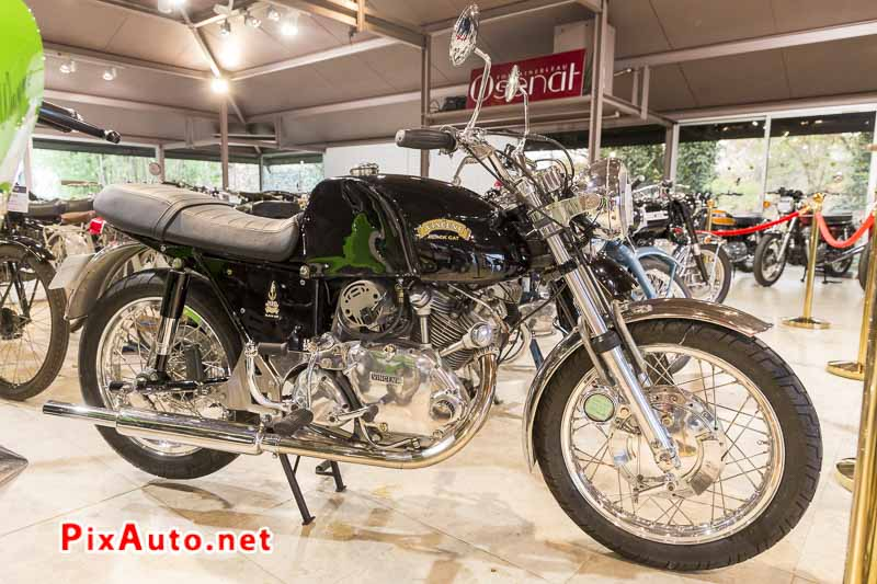 20e Salon-Moto-Legende, Vincent 500 Comet Black Cat