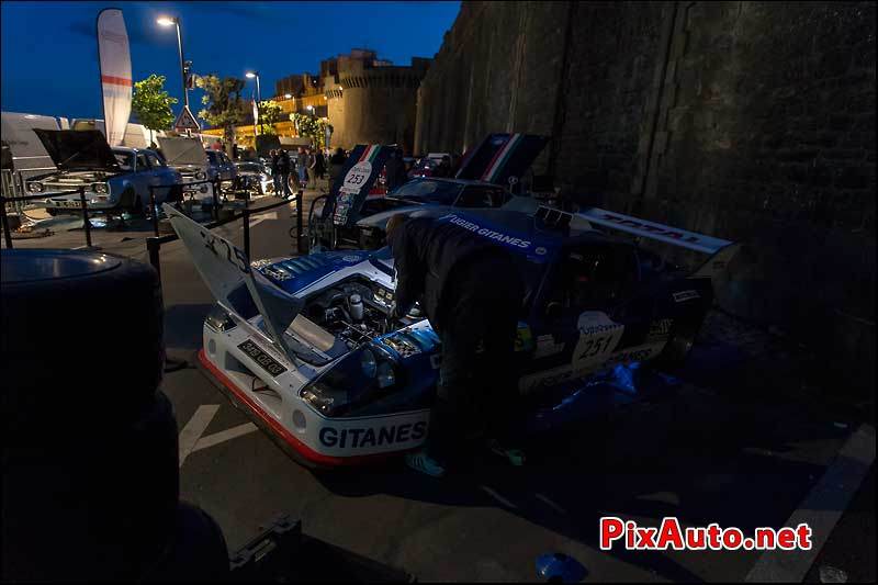Tour-Auto-Optic-2000, Assistance Ligier Js2 A Saint Malo
