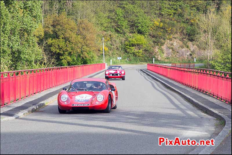 Tour-Auto-Optic-2000, Berlinettes BSH et Ferrari 250GT
