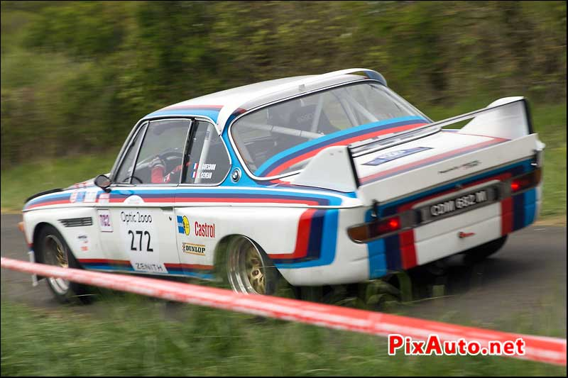 Tour-Auto-Optic-2000, BMW 3l CSL #272 en Speciale