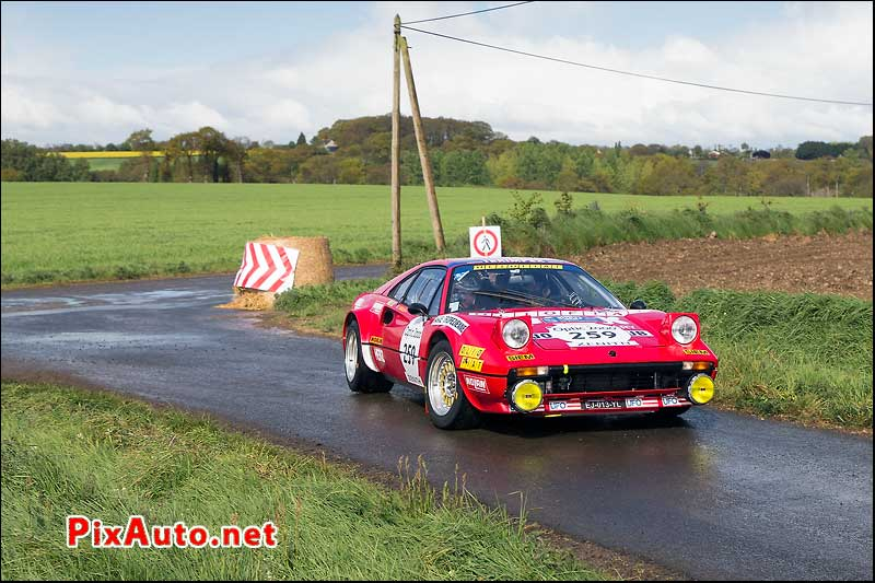 Tour-Auto-Optic-2000, Ferrari 308 #259, Speciale Saint-Goueno/Le Mene