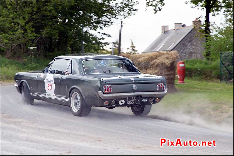 Tour-Auto-Optic-2000, Mustang #80, Speciale Rochefort-en-Terre/Pluherlin