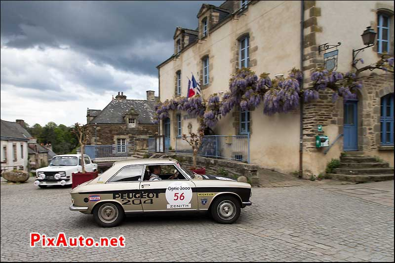 Tour-Auto-Optic-2000, Peugeot 204 Coupe #56 a Rochefort-en-Terre