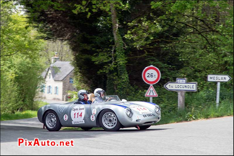 Tour-Auto-Optic-2000, Porsche 550 Spyder Sur Speciale Les Roches Du Diable