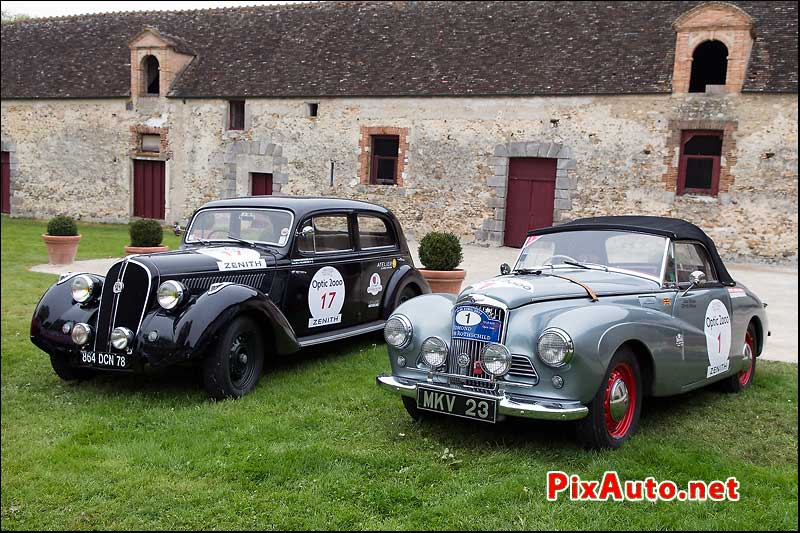 Tour-Auto-Optic-2000, Sunbeam Alpine et Hotchkiss