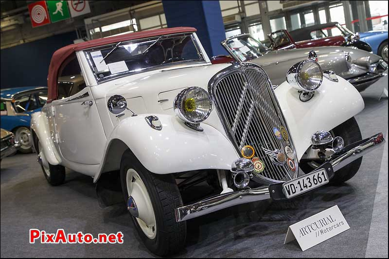 Vente Artcurial Retromobile, Citroen Traction 7 Sport Roadster