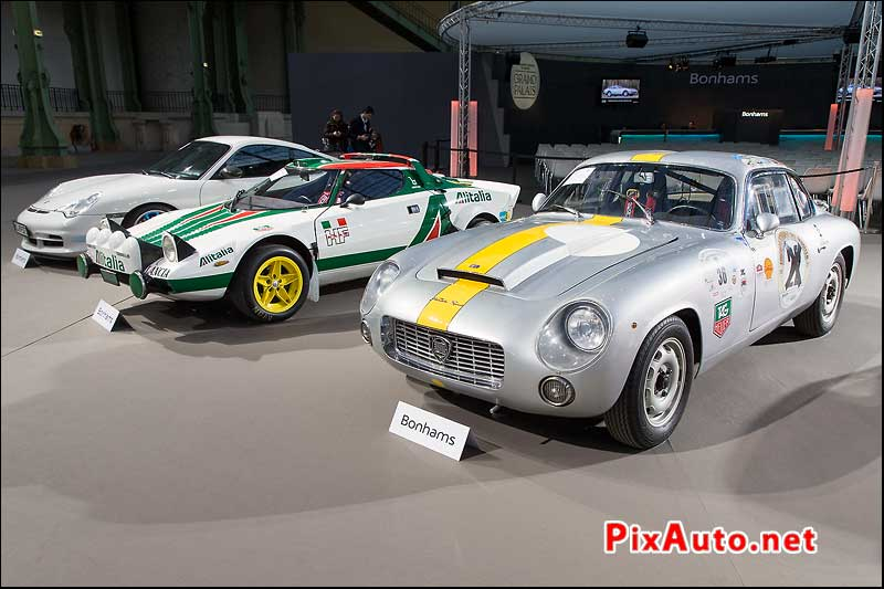 Bonhams, Lancia Flaminia Super Sport Coupe et Stratos GR 4