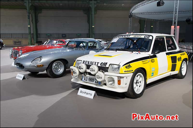 Bonhams au Grand Palais, Renault 5 Turbo Tour De Corse