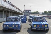 Les Gordini a Autodrome Heritage Festival 2018