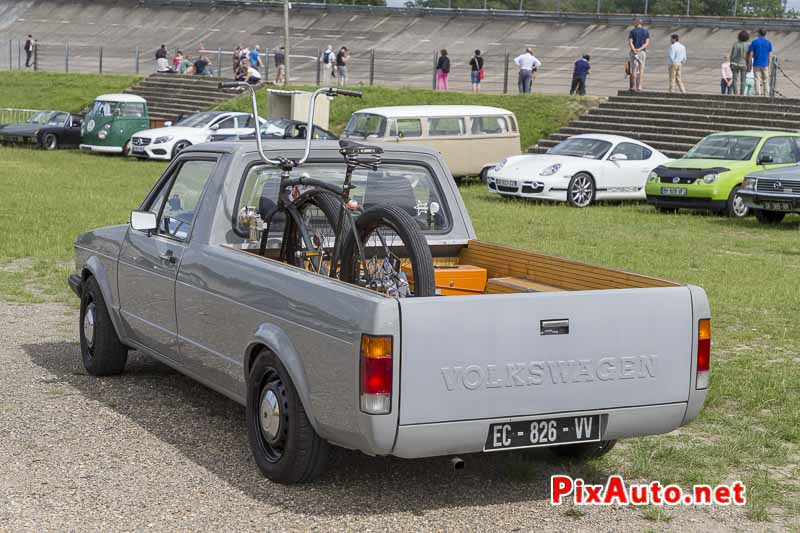 Wagen Fest, Pick-up VW Golf