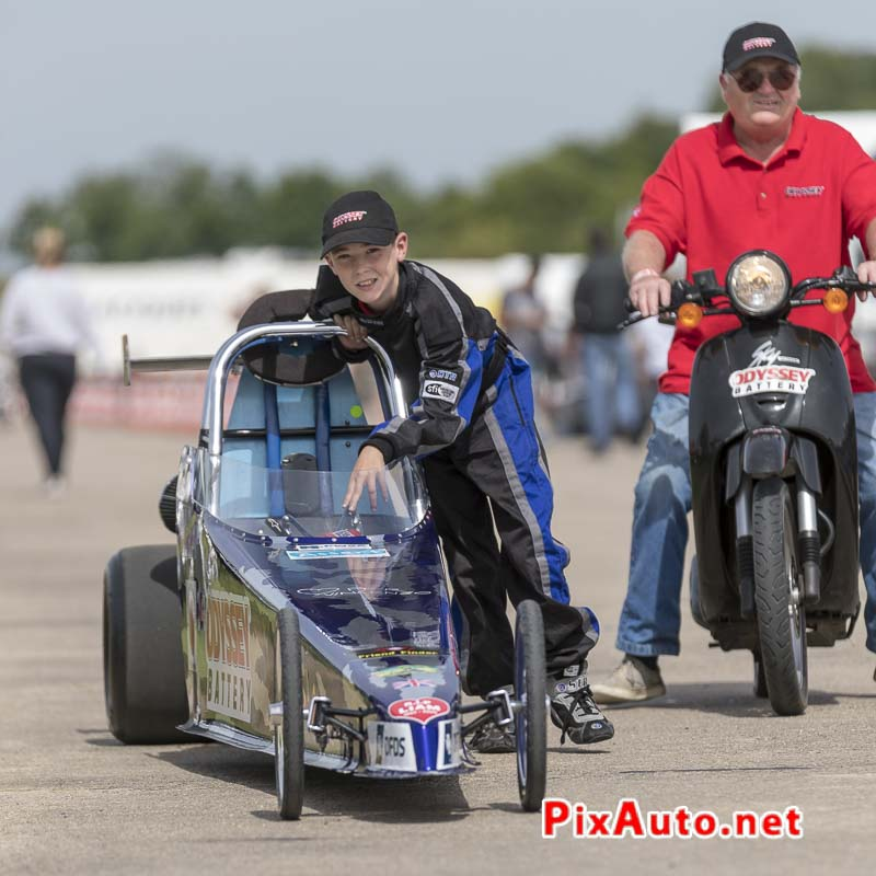 6e European Dragster ATD, Concurrent Classe Junior Dragster