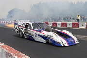 6e European Dragster ATD, demo Jet Car Sebastien Lajoux