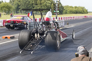 6e European Dragster ATD, Run Elodie Dubois sur Dragster Rail
