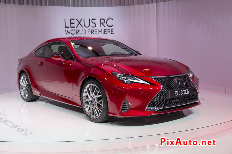 Paris Motor Show, Lexus Coupe Rc300h
