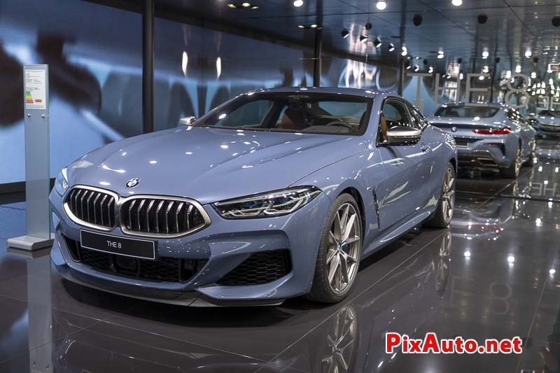 Paris Motor Show, The 8 Bmw