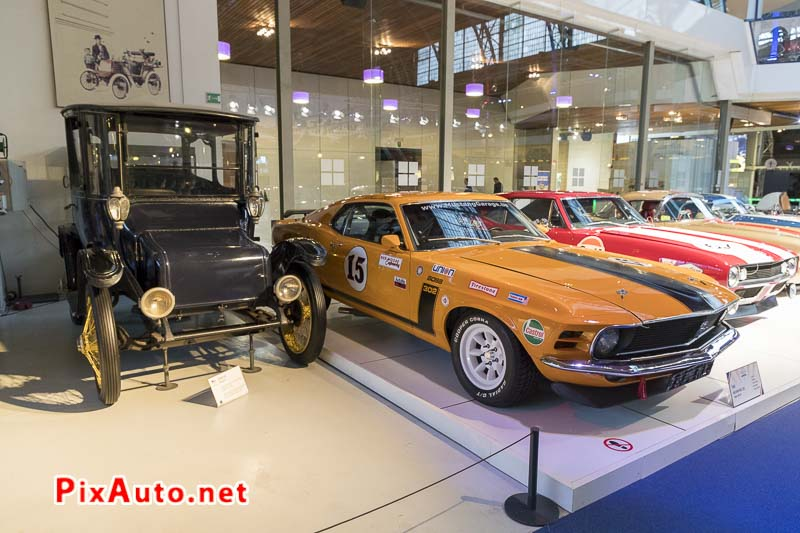American-Dream-Cars-and-Bikes, Detroit electrique et Ford Mustang Boss 302