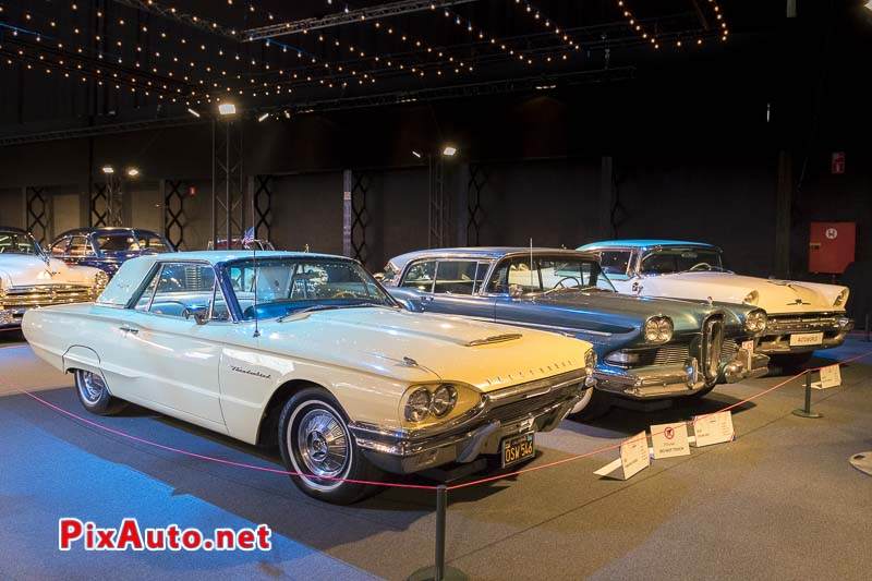 American-Dream-Cars-and-Bikes, Ford Thunderbird Convertible et Edsel Citation