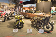 American-Dream-Cars-and-Bikes, Harley-Davidson et Chevrolet El Camino pick-up
