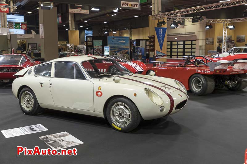 Salon-Retromobile, Abarth-simca 1300 GT Corsa 1963