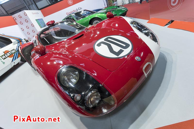 Salon-Retromobile, Alfa Romeo Tipo 33/2 Daytona #AR75033019