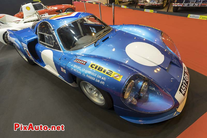 Salon-Retromobile, Alpine A220 #1731