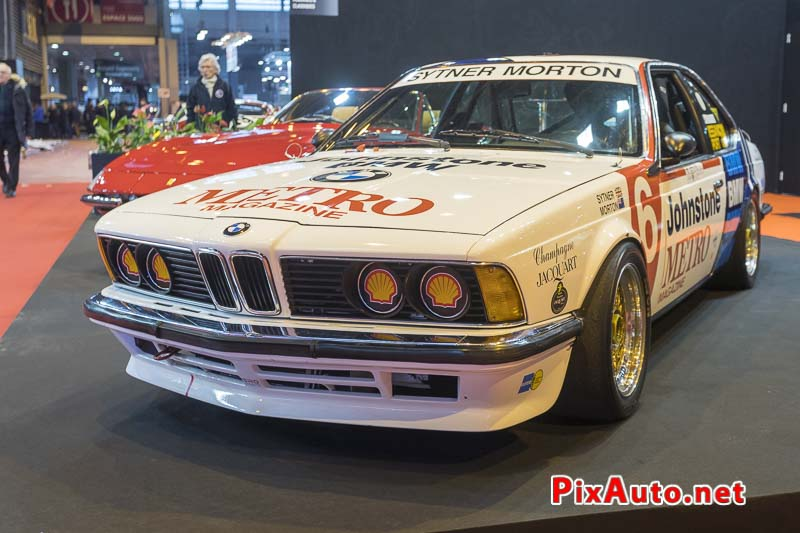 Salon-Retromobile, BMW 635 Csi Groupe A