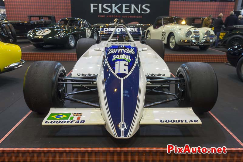 Salon-Retromobile, Brabham Ford BT49D