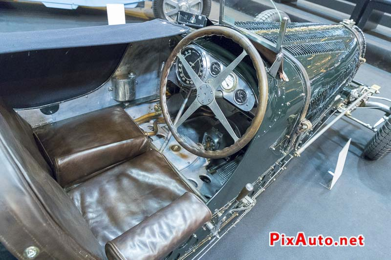 Salon-Retromobile, Bugatti Type 59 GP tableau de bord