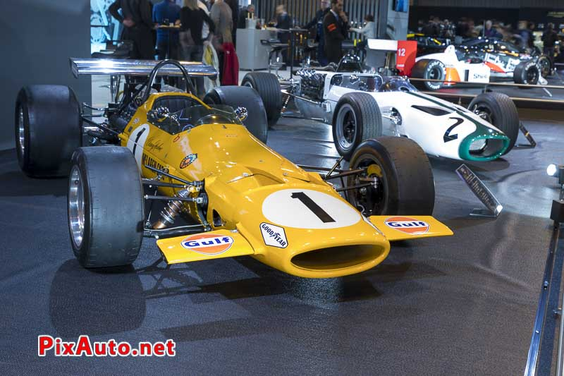 Salon-Retromobile, F1 McLaren M7A de 1968