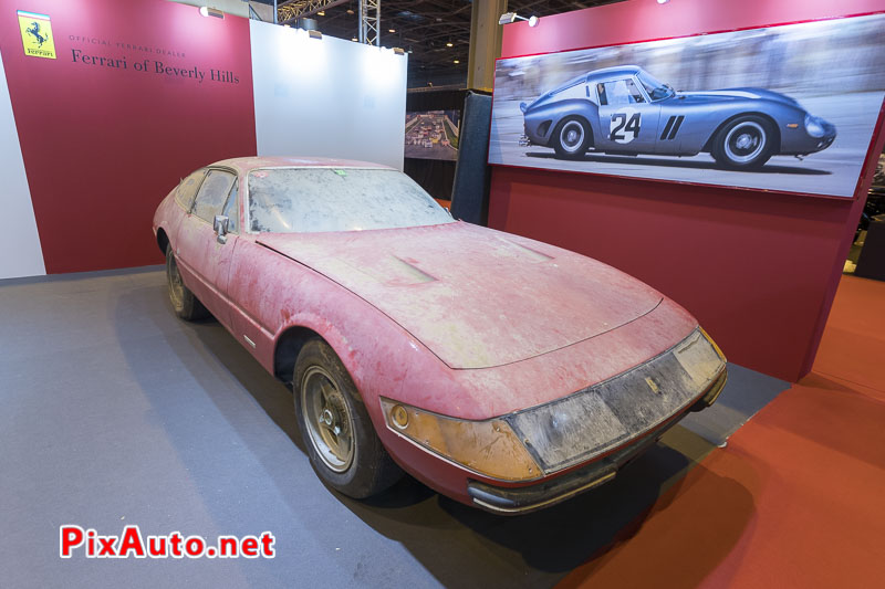 Salon-Retromobile, Ferrari Daytona Dans son Jus