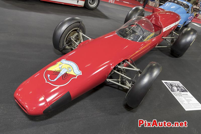 Salon-Retromobile, Fiat-abarth 2000 Monoposto Record 1965