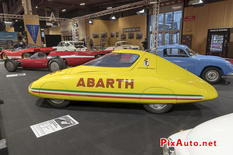 Salon-Retromobile, Fiat Abarth 500 Pininfarina