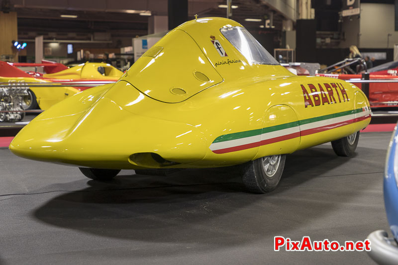 Salon-Retromobile, Fiat Abarth 500 Record Pininfarina